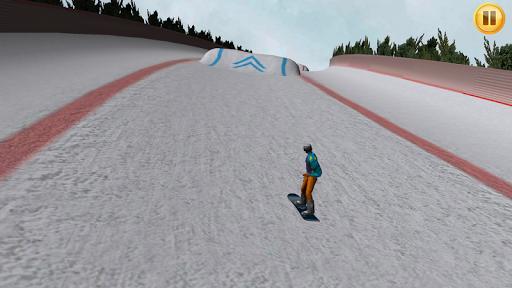 滑雪板小山3D