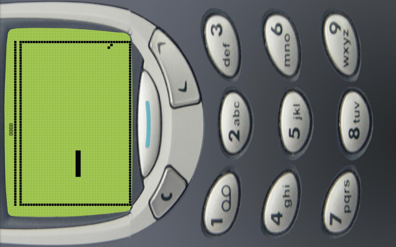 Classic Snake - Nokia 97 Old - screenshot