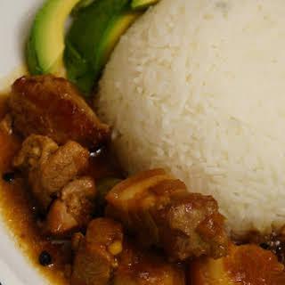 Spicy Pork Adobo.