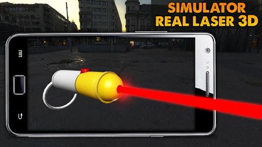 Phone Laser Simulator