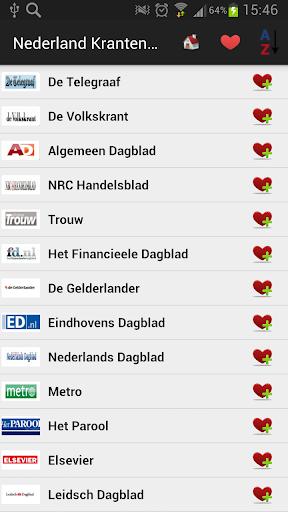 Nederland Kranten en Nieuws