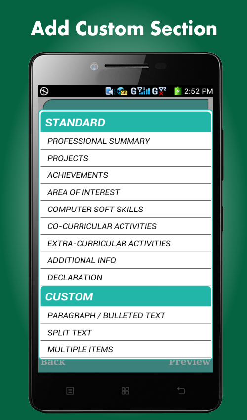 smart resume builder cv free android apps on google play