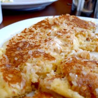 Coconut Macaroon Pancakes.