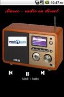 Screenshot of Moroccan Radio