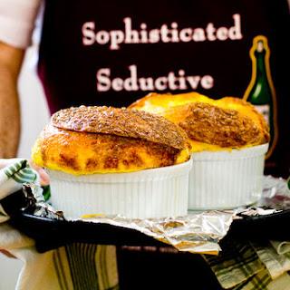 Three-Cheese Soufflé.