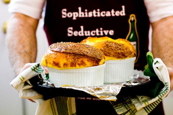 Three-Cheese Soufflé Recipe