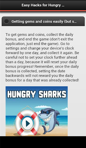 Easy Hacks for Hungry Sharks