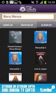 TTNET Müzik - screenshot thumbnail