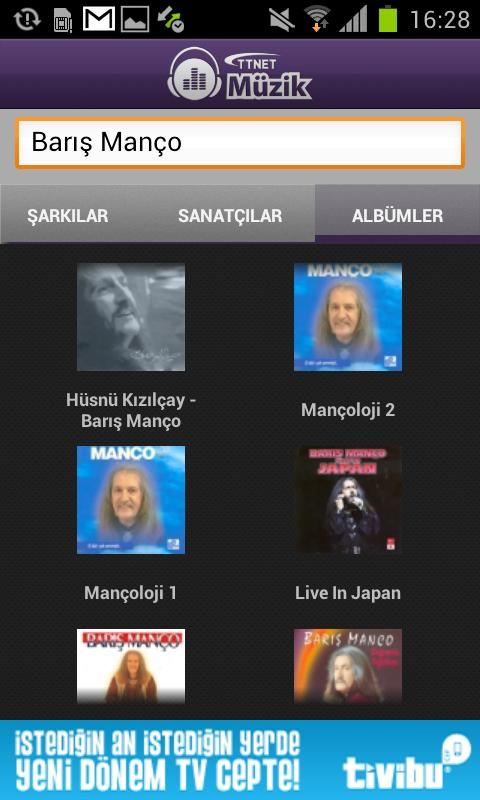 TTNET Müzik- screenshot