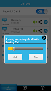 Record A Call - screenshot thumbnail