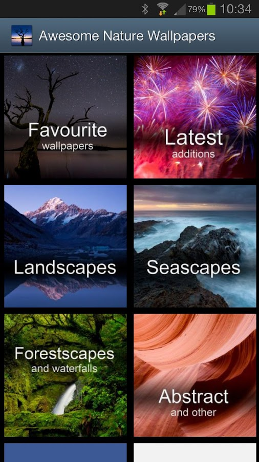 Awesome Nature Wallpapers Free- screenshot
