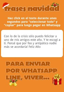 Frases Navideñas para Whatsapp - screenshot thumbnail