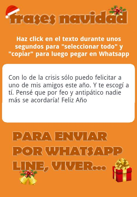 Frases Navideñas para Whatsapp - screenshot