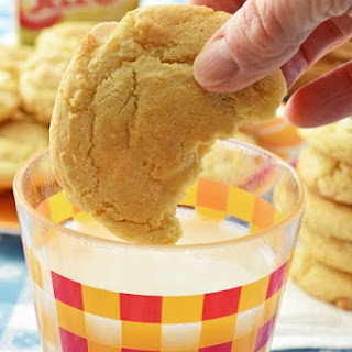 Lemon Cheesecake Pudding Cookies.