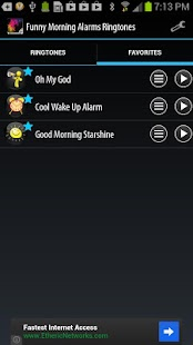 Funny Morning Alarm Ringtones - screenshot thumbnail