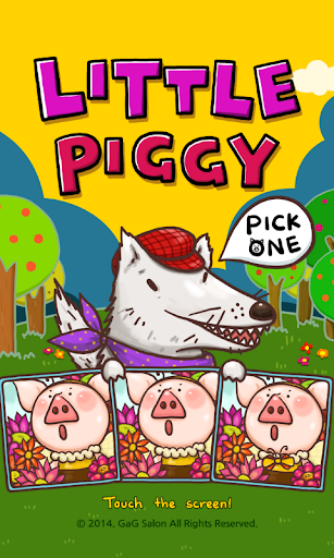 Little Piggy - pick one