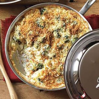 Golden Broccoli Gratin