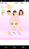 Screenshot of spa facial games