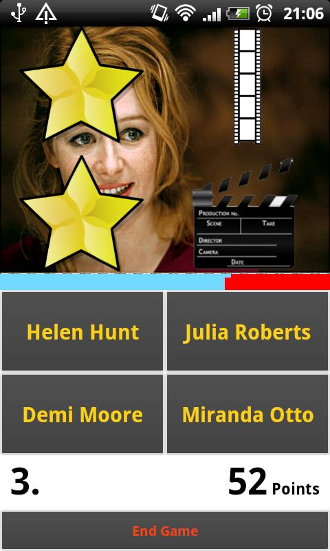 Picture Guess: Hollywood Stars- screenshot