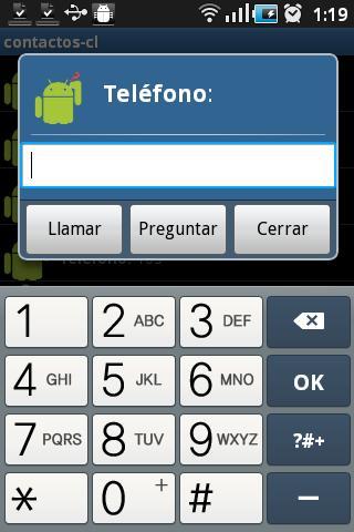 contacts-cl- screenshot