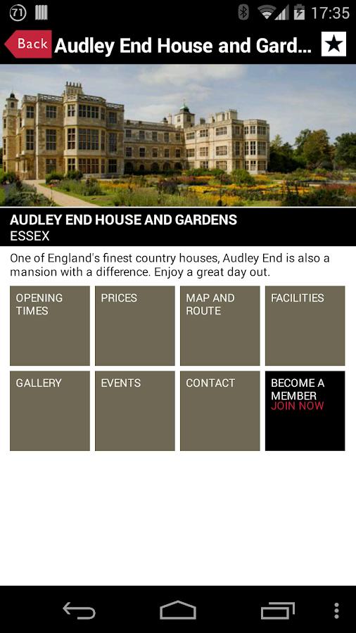 English Heritage Days Out - screenshot