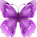 Butterfly Flowers 4 DoodleText logo