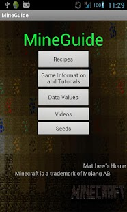 MineGuide - Minecraft guide - screenshot thumbnail
