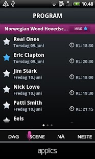 Festivalapp - screenshot thumbnail