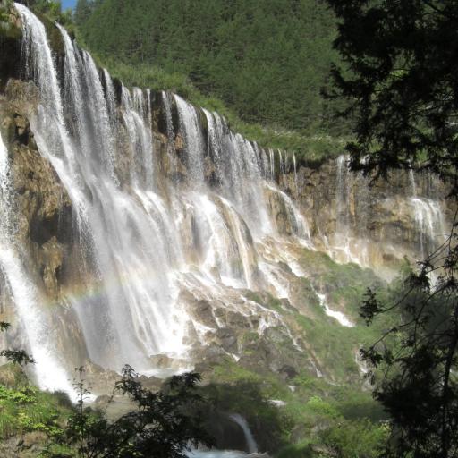 China Jiuzhaigou Waterfall