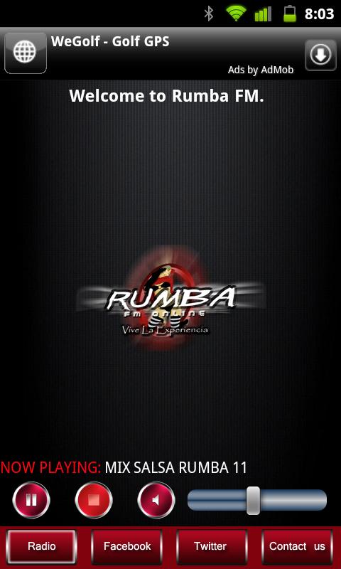 Rumba FM - screenshot