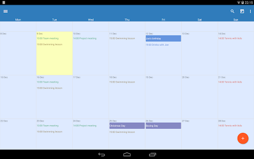 Touch Calendar - screenshot thumbnail