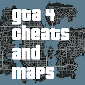 Cheats & Maps for GTA 4