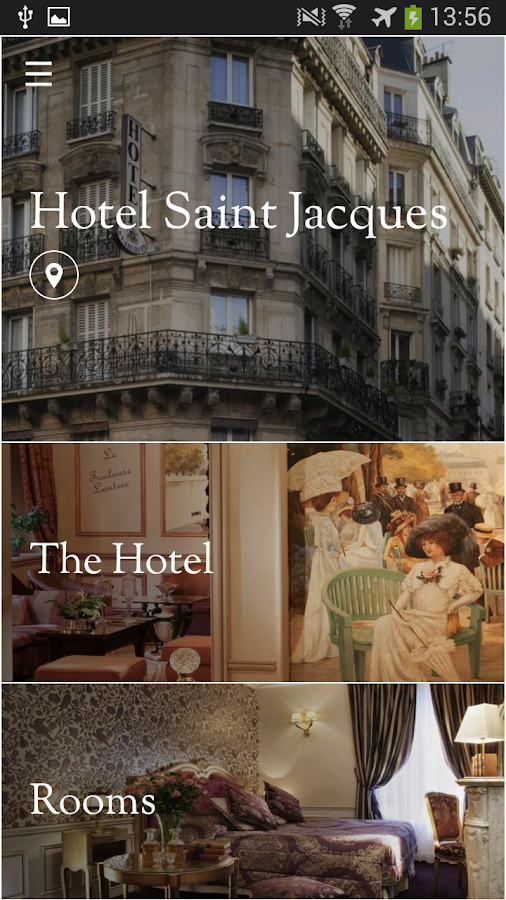 Hotel Saint Jacques - screenshot