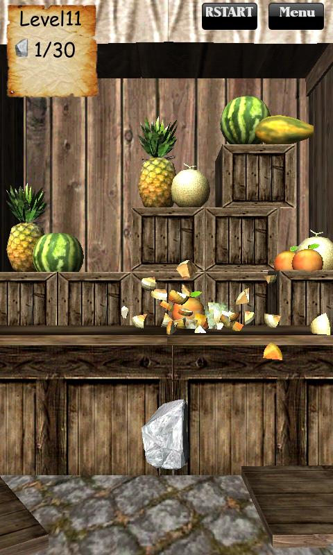 Smash Fruit 3D- screenshot