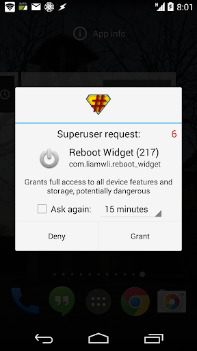 [ROOT] Reboot Widget