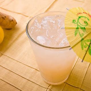 Fizzy Ginger Lemonade
