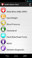 Screenshot of All-in-One Health Status Check