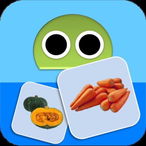 教育のやさいロボ 〜野菜の名前を覚えよう〜 LOGO-記事Game