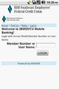 IBM Southeast EFCU - screenshot thumbnail