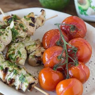 Cilantro Avocado Grilled Chicken.