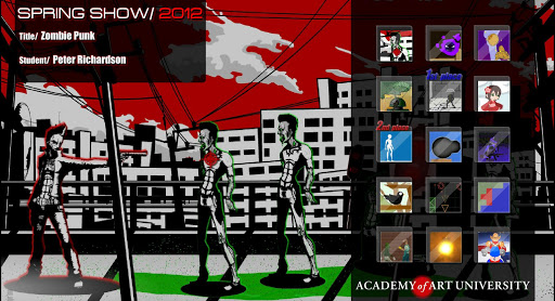 AAU Game Design: SpringShow12 Beta screenshots 2