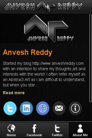 Anvesh Reddy- screenshot