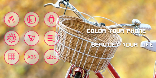 Bicycle And Weekend Icon Pack