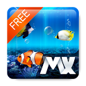 [Live] MX Free Theme Aquarium icon