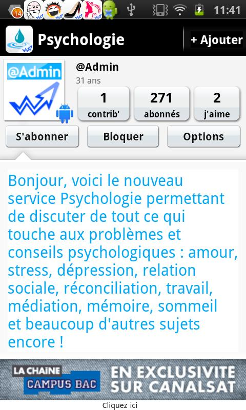 Psychologie : Questions & Aide - screenshot