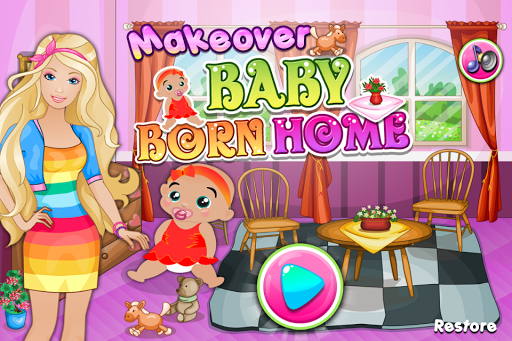 Makeover Baby Born Home
