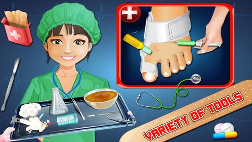 玩免費角色扮演APP|下載足首の手術シミュレータ2015 app不用錢|硬是要APP