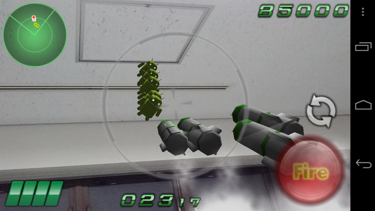 DroidShooting - screenshot