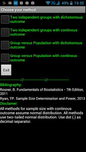 【免費教育App】Sample Size Calculator - S-o-m-APP點子