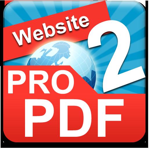 Website TO PDF PRO 生產應用 App LOGO-APP試玩